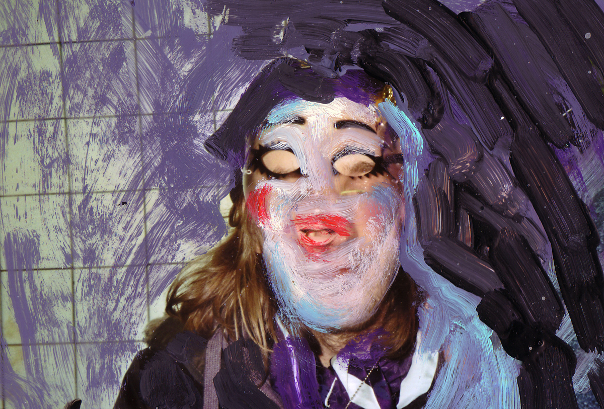 Mask,--C--Print-and-Gouache,-10-x-15-cm,