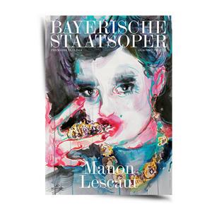Ulrike Theusner Bayerische Staatsoper Posterserie 2015