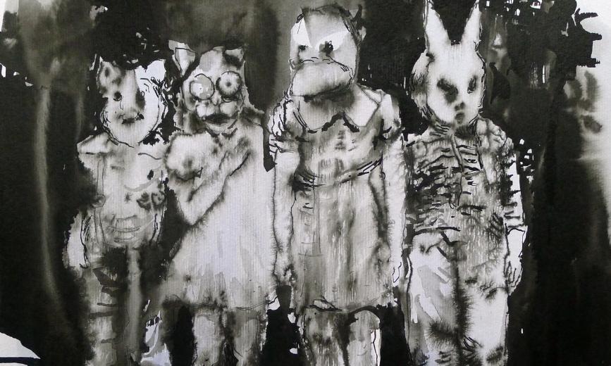 ulrike-theusner-american-halloween-gangbang-2015-vinyl